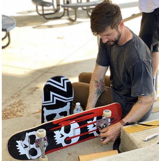 Chris Cole Back On Zero Skateboards