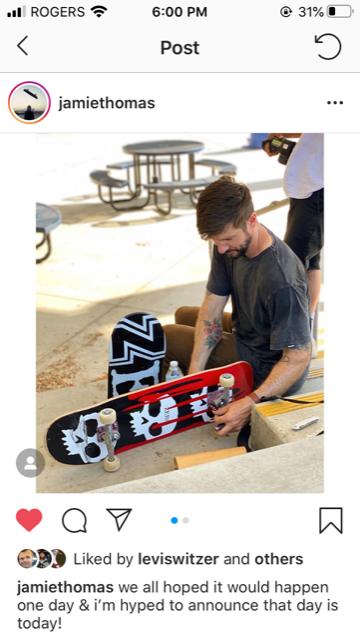 Zero Skateboards welcomes Chris Cole Jamie Thomas