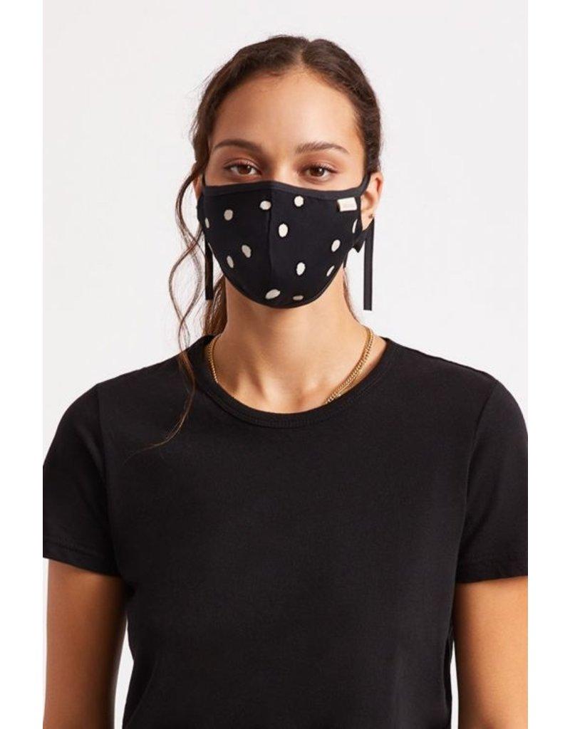 Brixton Brixton Summer Weights AM Mask (Black Polka)