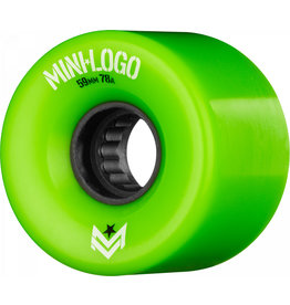 Mini Logo A.W.O.L. Formula A-Cut Wheels 80A (63mm)