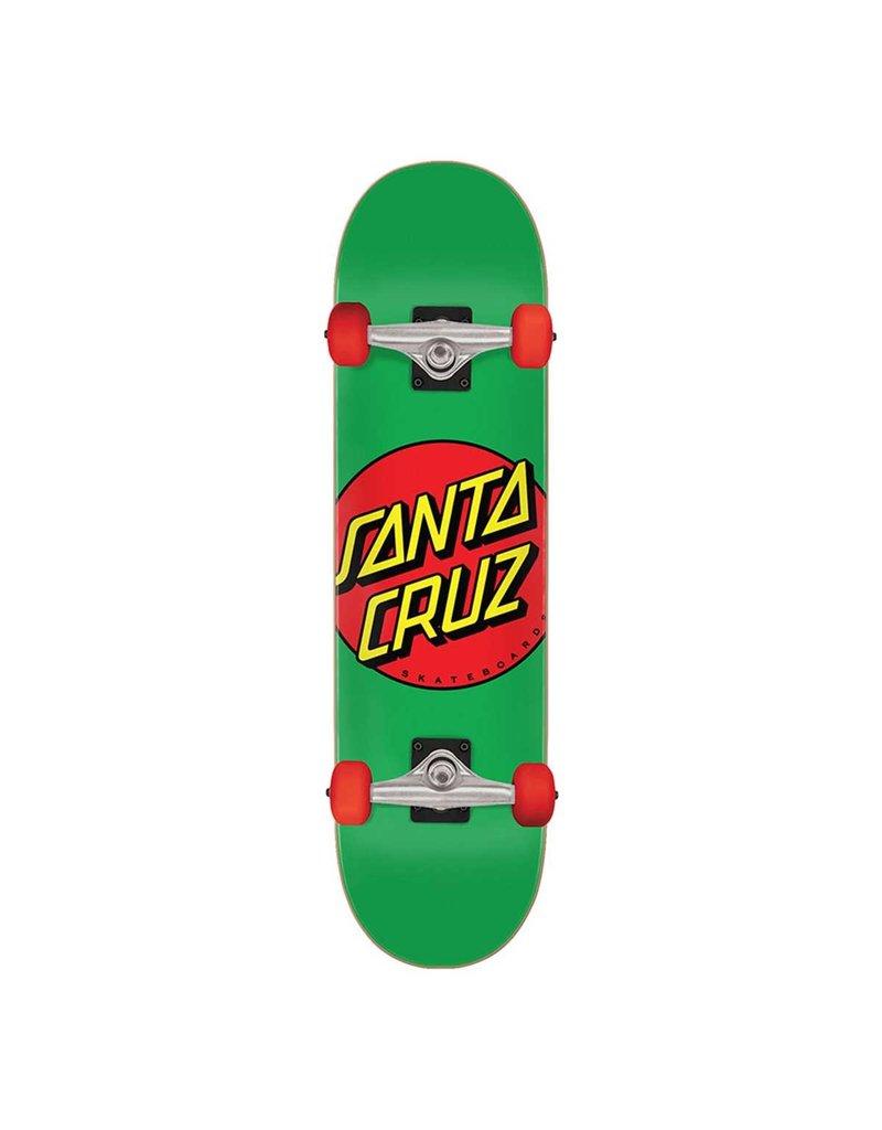 Santa Cruz Classic Dot Complete Mid (7.8) Green