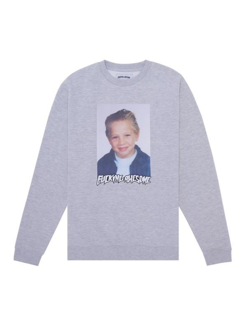 Fucking Awesome Fucking Awesome Class Photo Vincent Touz Crewneck