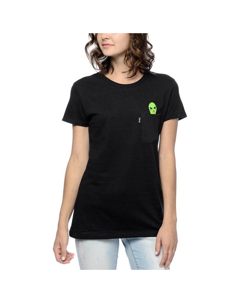 Rip N Dip Rip N Dip Women's Alien Pocket T-Shirt