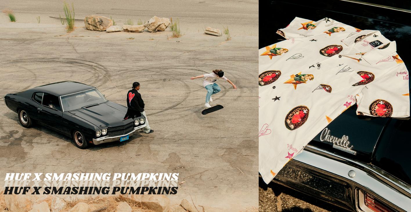 Huf x Smashing Pumpkins Collection