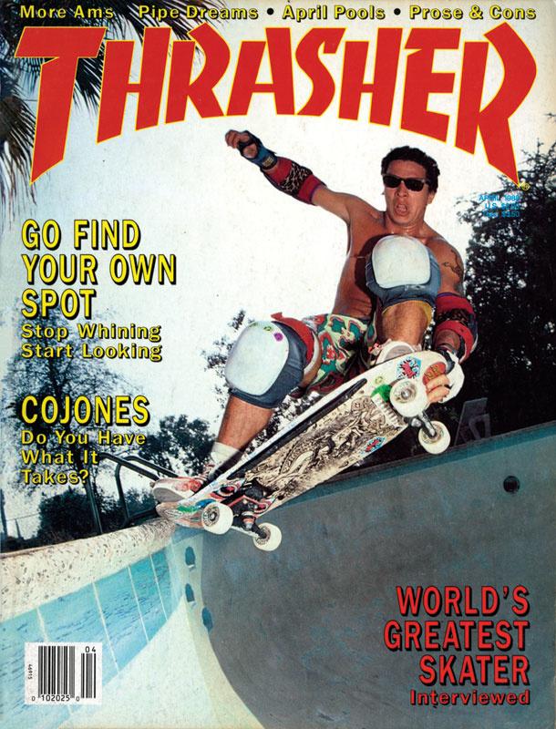 Santa Cruz Skateboarder Magazine Steve Alba cover