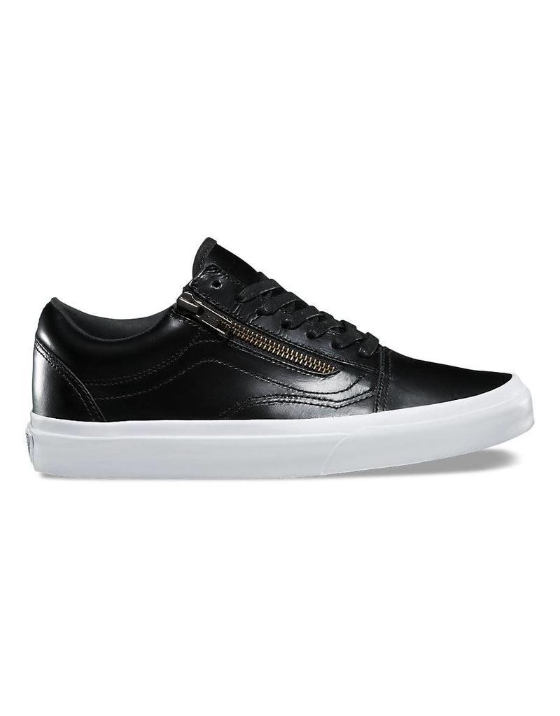 0d197df17f Vans Old Skool Dx Shoes Black Leather - Shredz Shop