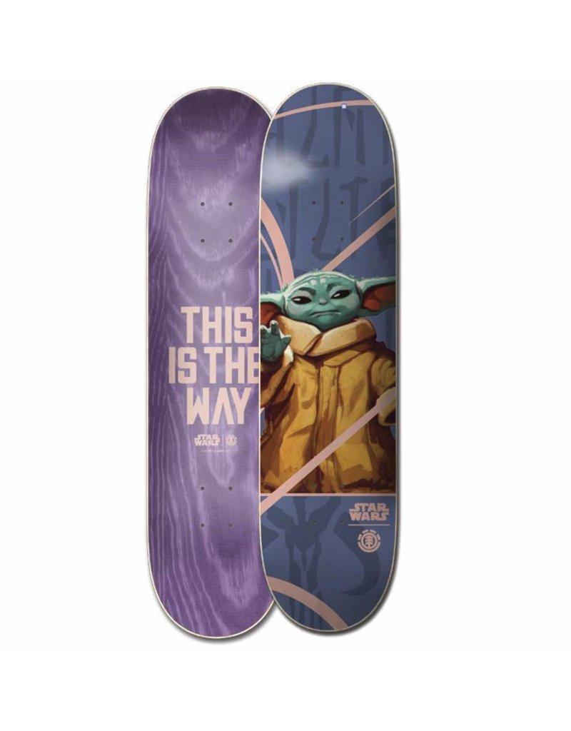 Element Skateboards x Star Wars Baby Yoda Deck