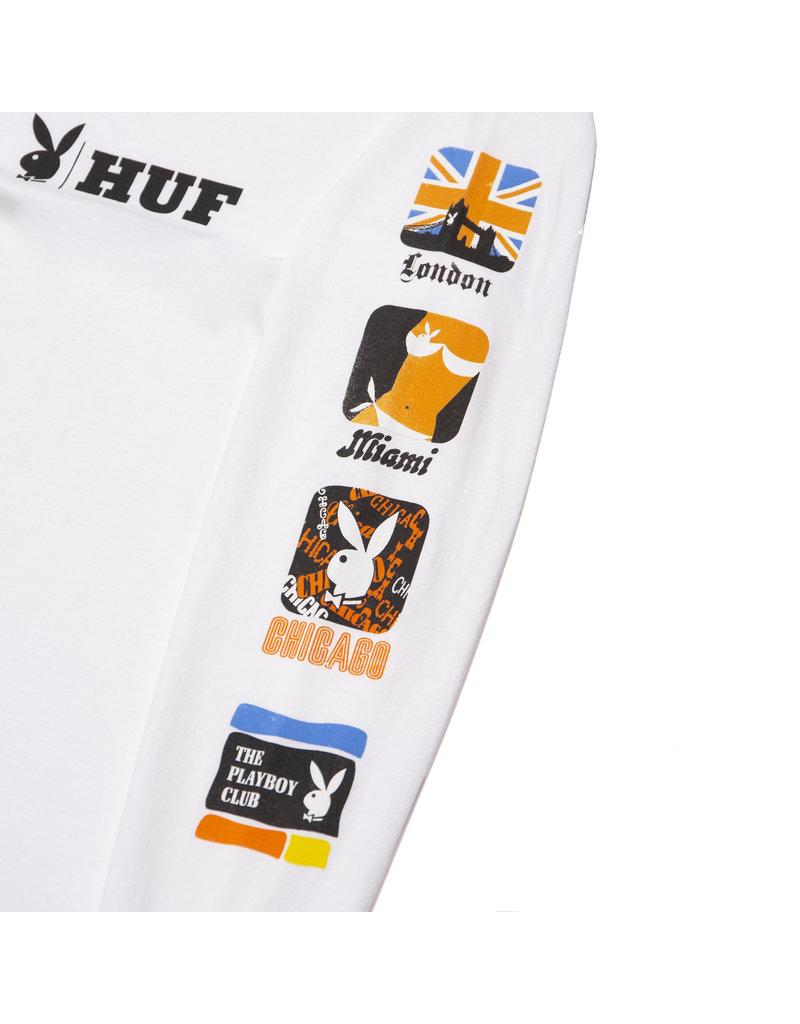 Huf Huf X Playboy Club International L/S Shirt