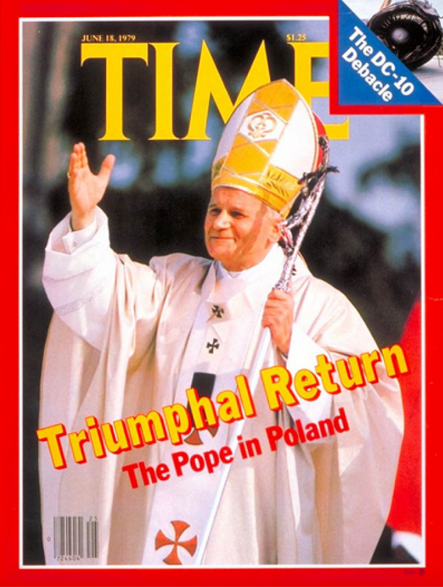 Independent Trucks Time Magazine Pope Logo Cover