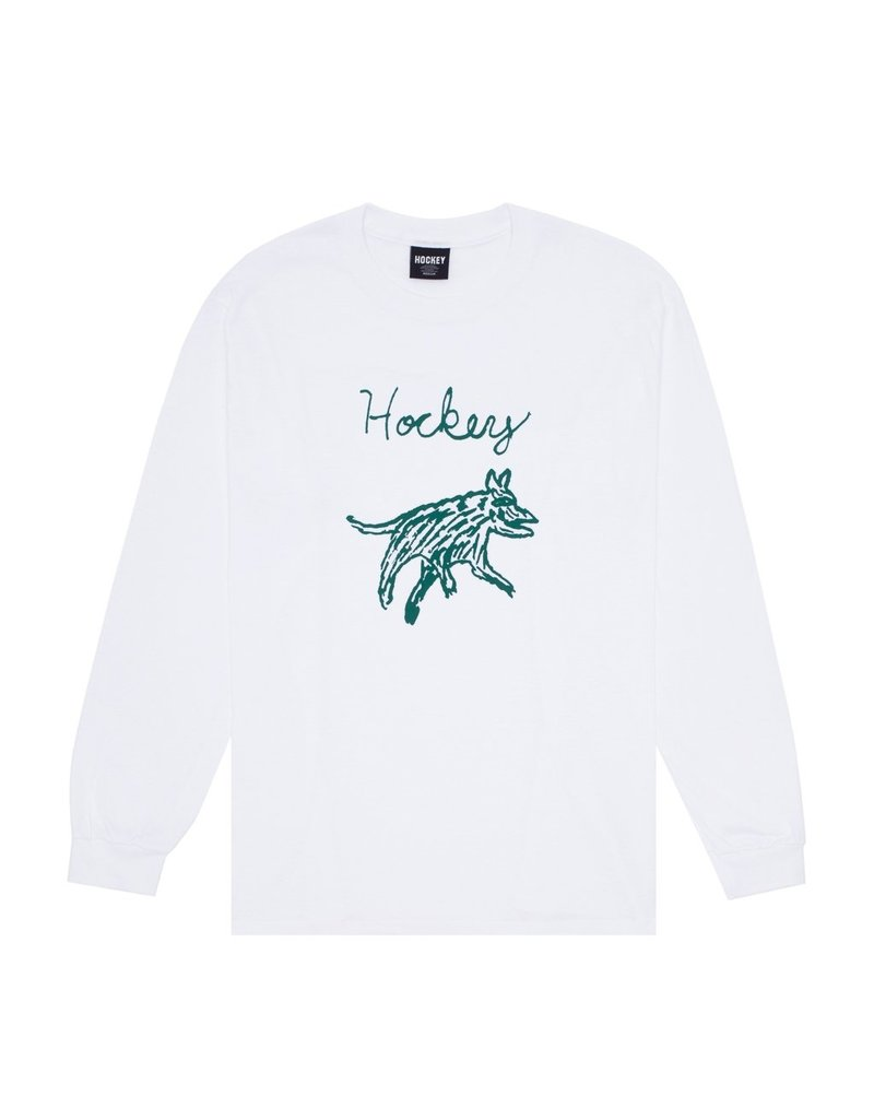 Hockey Hockey Dog L/S T-Shirt