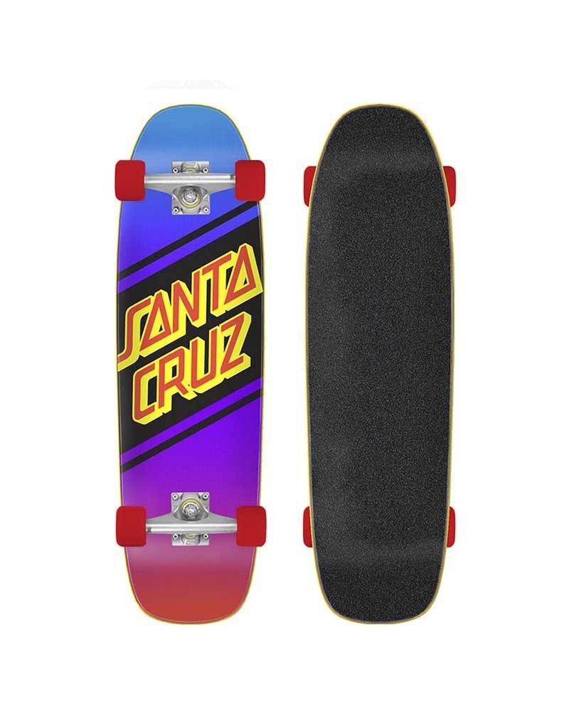 Santa Cruz Street Skate Cruizer Complete (8.4) Neon