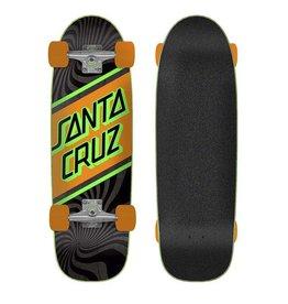Santa Cruz Street Skate Cruizer Complete (8.79) Neon Orange/Green