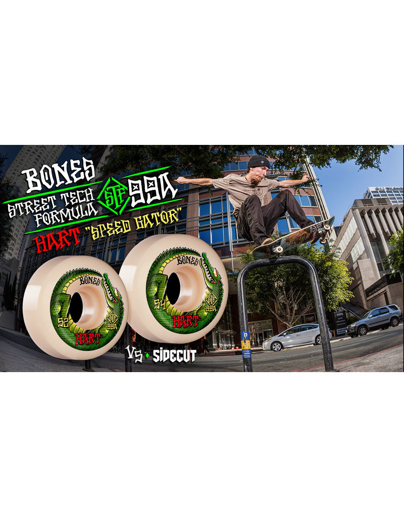 Bones Bones STF Hart Speed Gator Wheels V5 Sidecuts 99A (52mm)