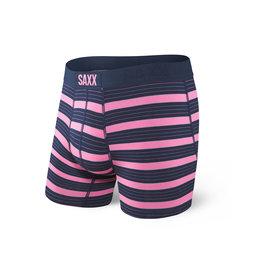 Saxx Saxx Vibe Boxers Think Pink Stripe