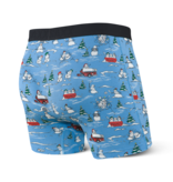 Saxx Saxx Vibe Boxers Blue Pucking Awesome