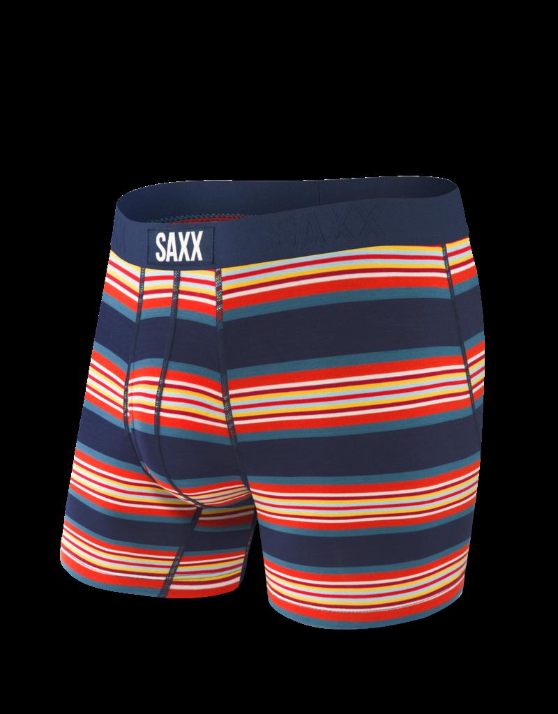 Saxx Saxx Ultra Boxers Navy Banner Stripe