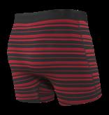 Saxx Saxx Platinum Boxers Black/Red Tidal Stripe