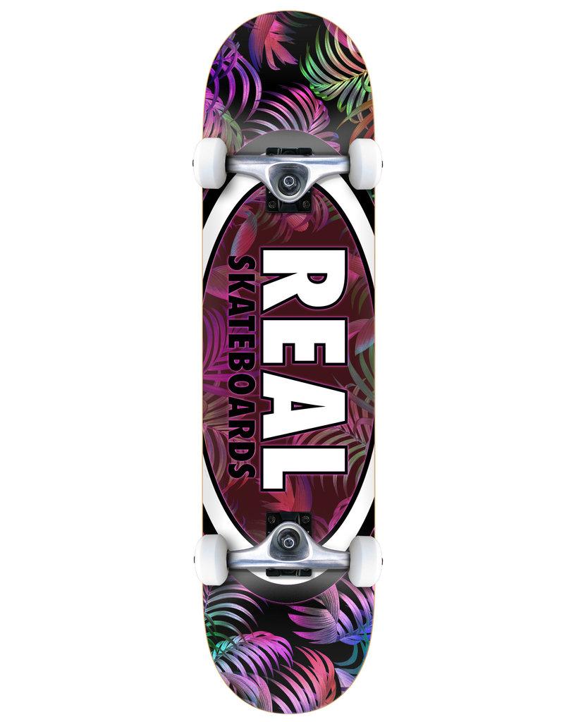 Real Real Team Tropic Ovals II Complete Skateboard (7.3) Mini