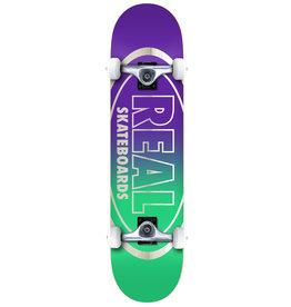 Real Real Golden Oval Outliners Complete Skateboard (8.0)