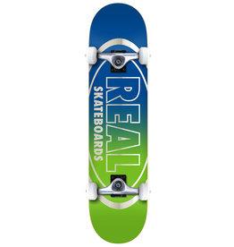 Real Real Golden Oval Outliners Complete Skateboard (7.75)