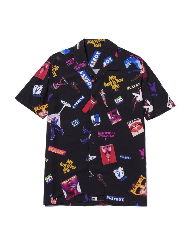 Huf Huf X Playboy Collage Woven Shirt