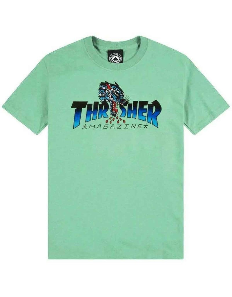 Thrasher Thrasher Leopard Mag T-Shirt