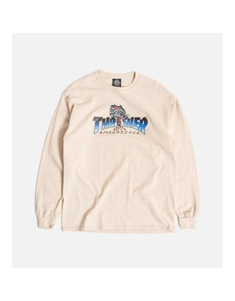 Thrasher Thrasher Leopard Mag L/S T-Shirt