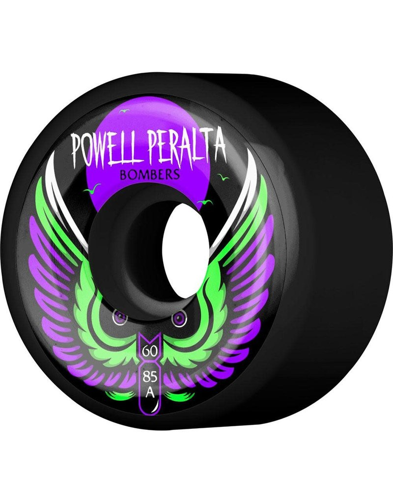 Powell Peralta Powell Peralta Bombers III Wheels Black (60mm) 85A