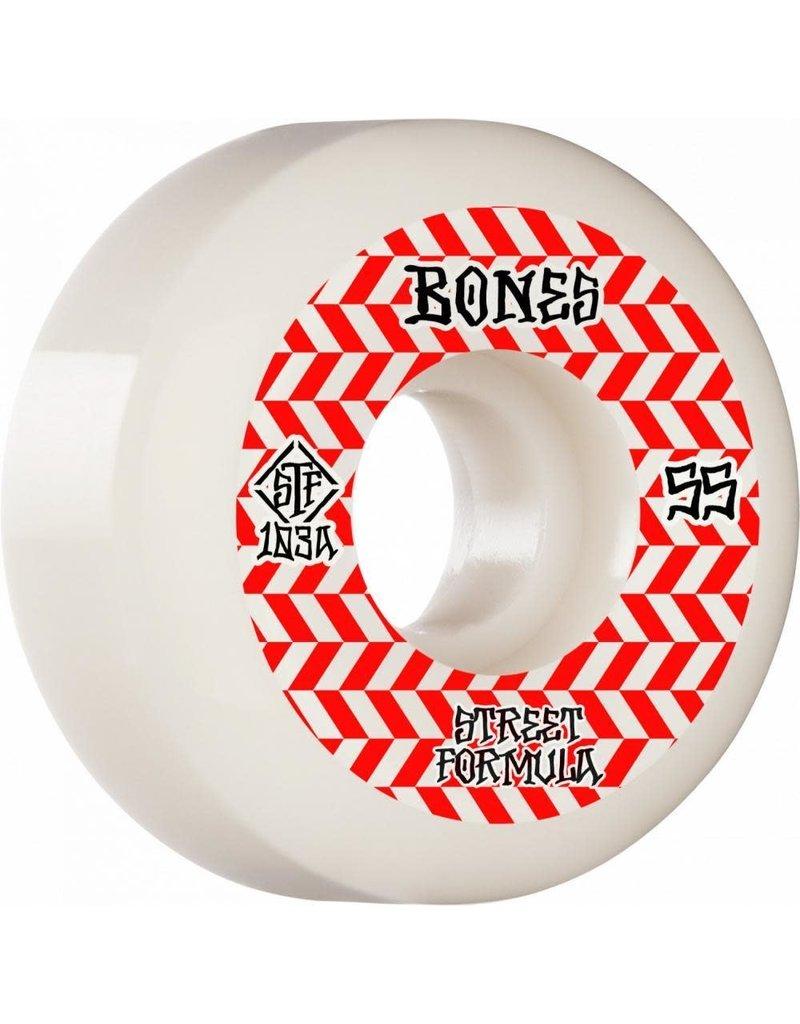 Bones Bones STF Patterns V5 Sidecut Wheels (55mm) 103A