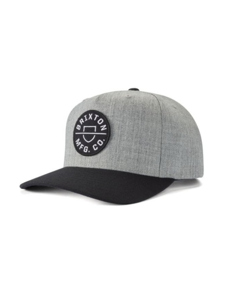 Brixton Brixton Crest C Wool Hat (Heather Grey)