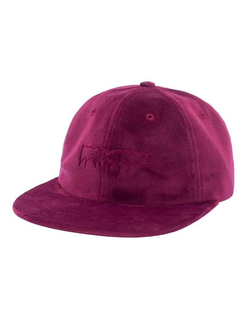fucking awesome velvet stamp logo hat online Canada maroon