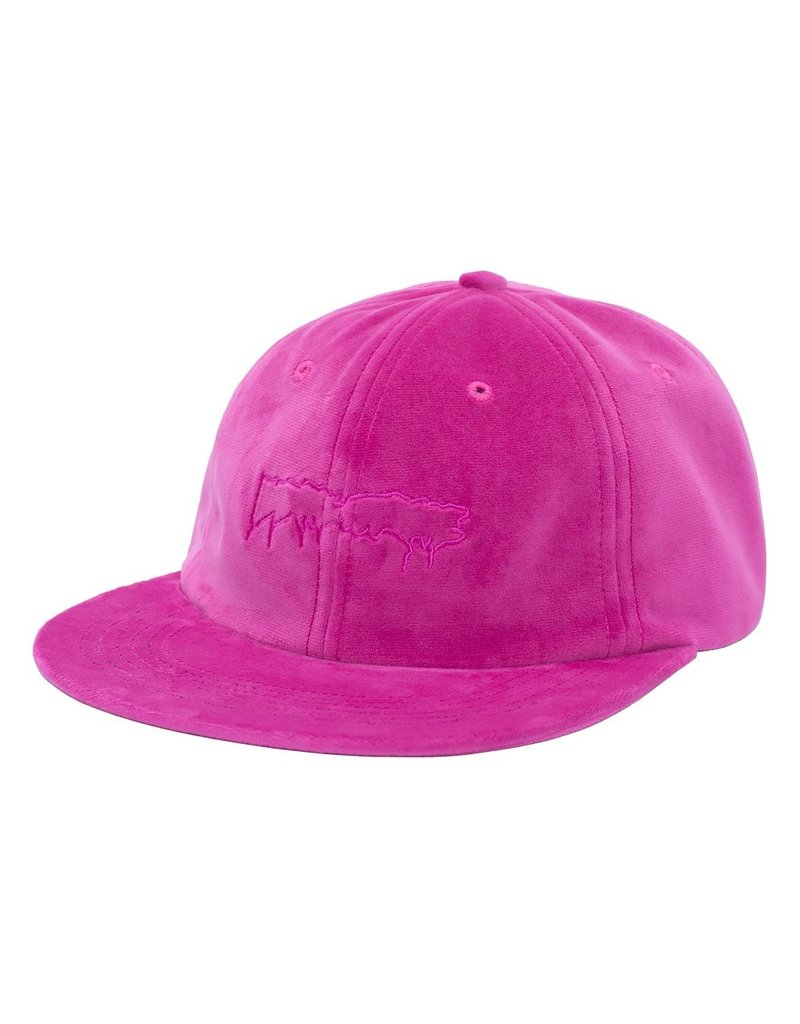 fucking awesome stamp logo hat velvet pink online Canada