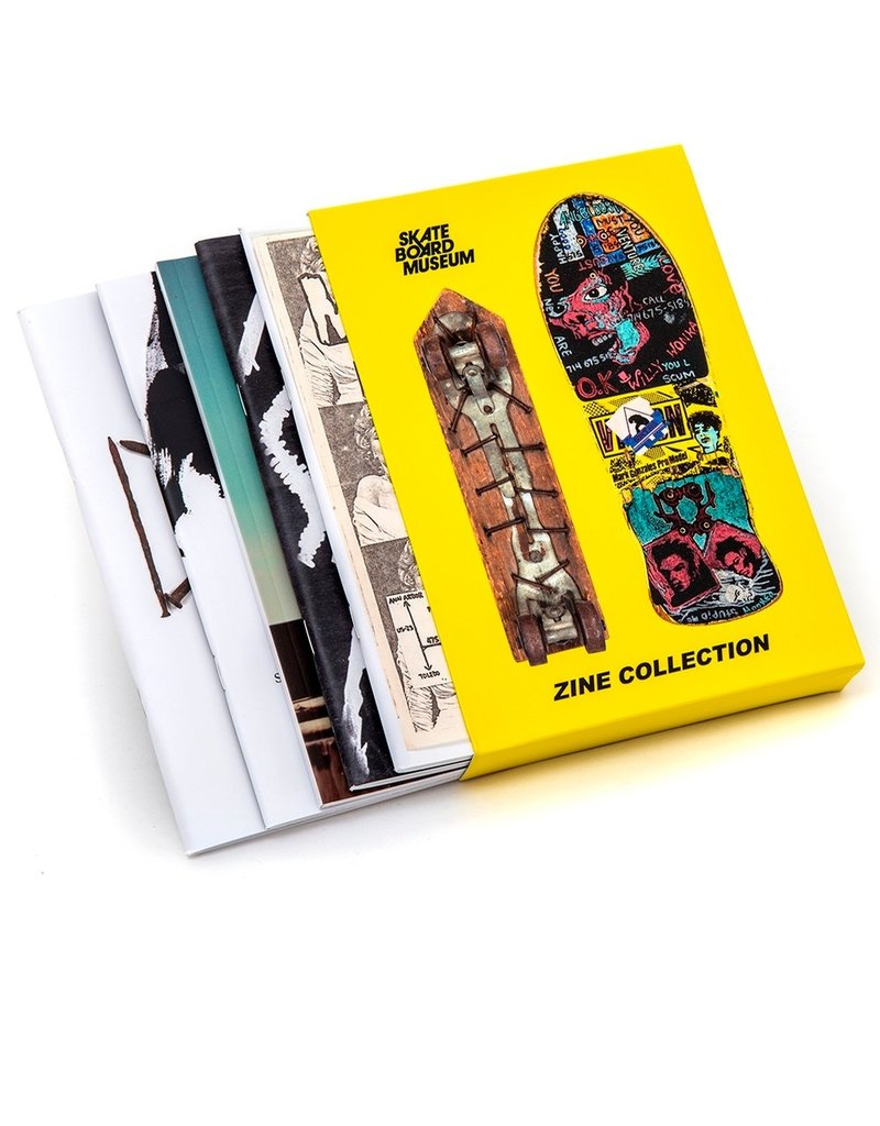 Books Skateboard Museum Zine Collection