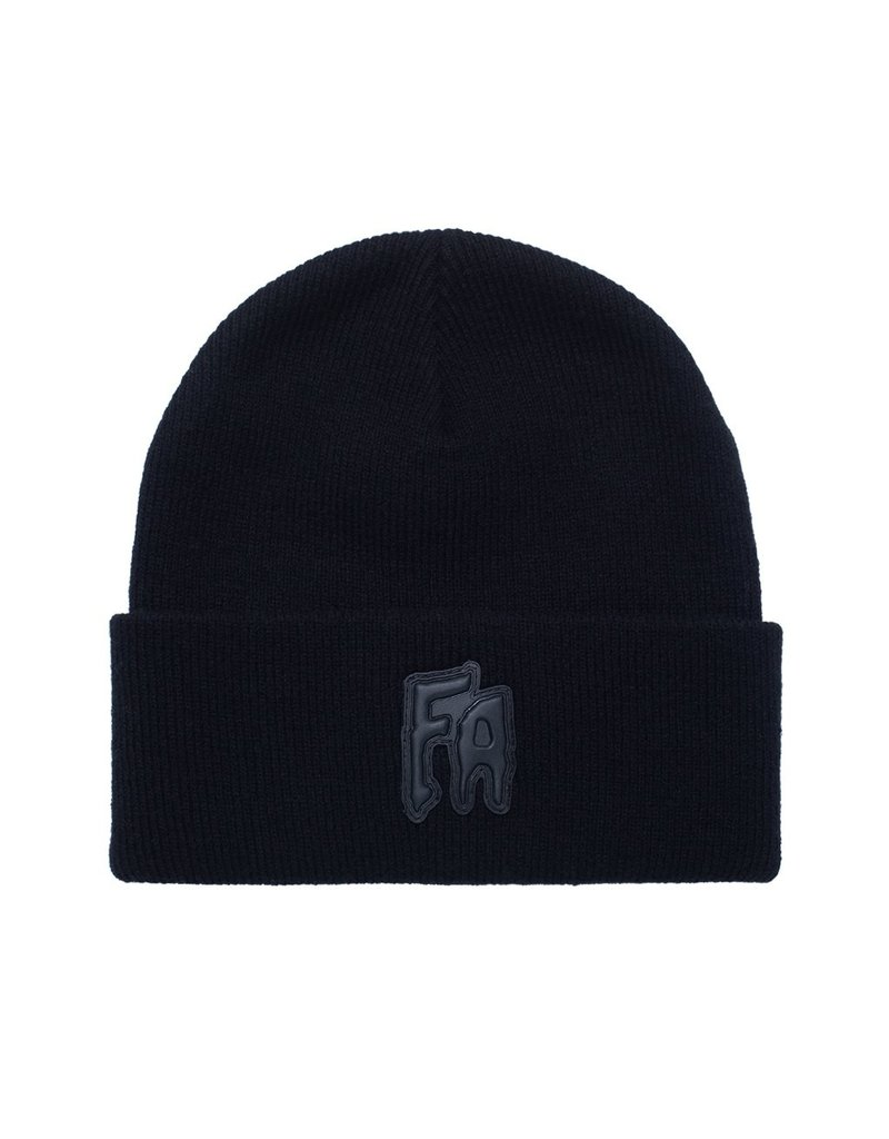 Fucking Awesome Fucking Awesome Applique Cuff Beanie (Black)