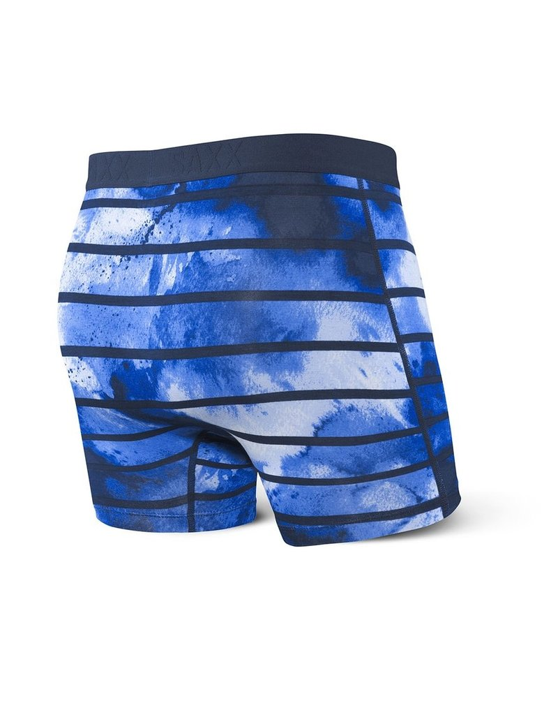 Saxx Saxx Vibe Boxers Navy Tie Dye