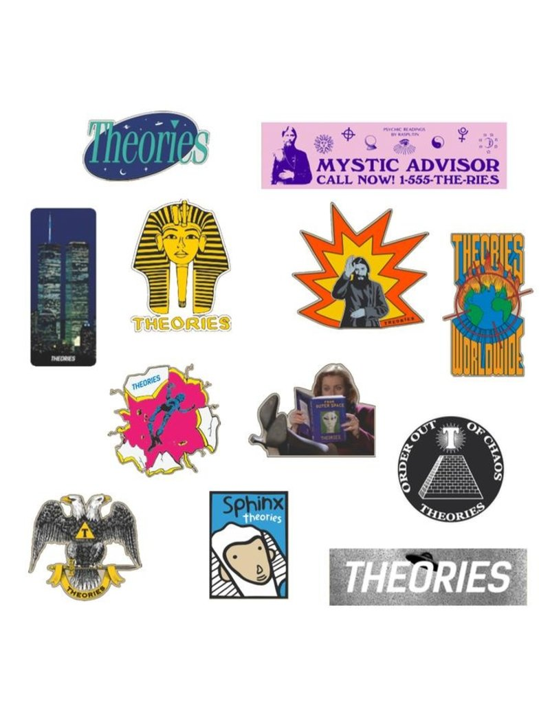 "Theories ""Rarities"" Sticker pack"