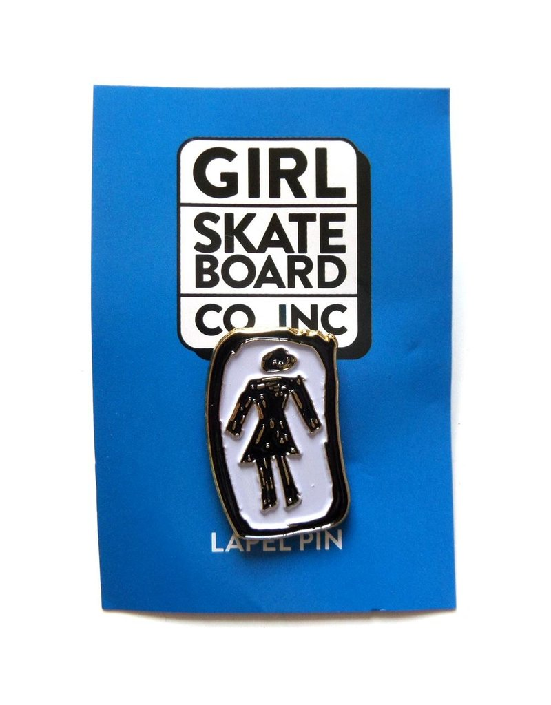 Girl Skateboards Badge Pin