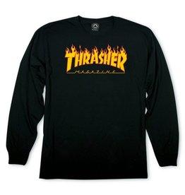 Thrasher Thrasher Flame Logo L/S T-Shirt
