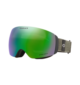 Oakley Flight Deck XM Goggles Heathered Dark Brush Grey Prizm Snow Jade Iridium