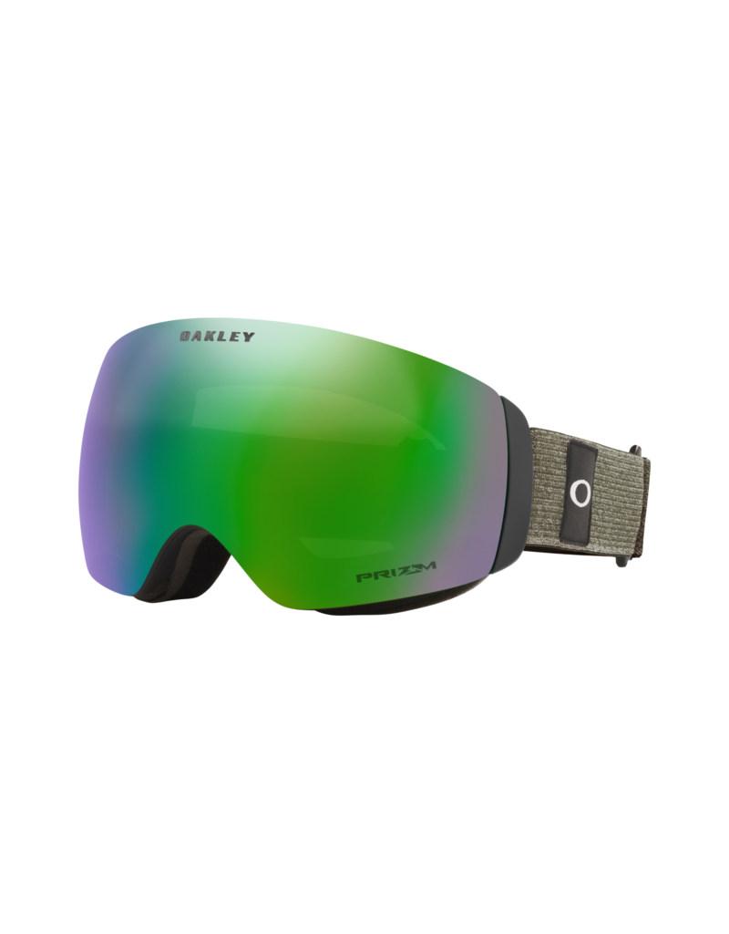 Oakley Flight Deck XM Goggles Heathered Dark Brush Grey Prizm Snow Jade Iridium
