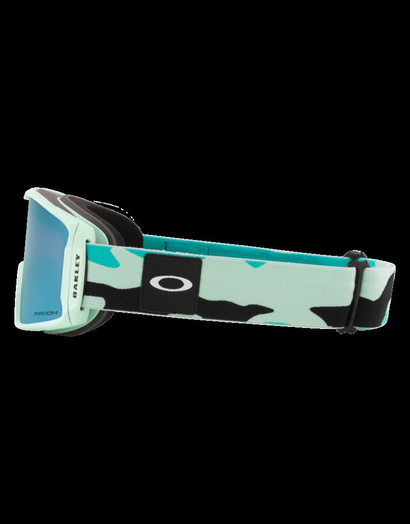 Oakley Line Miner XM Goggles Celeste Camo /Prizm Sapphire Iridium