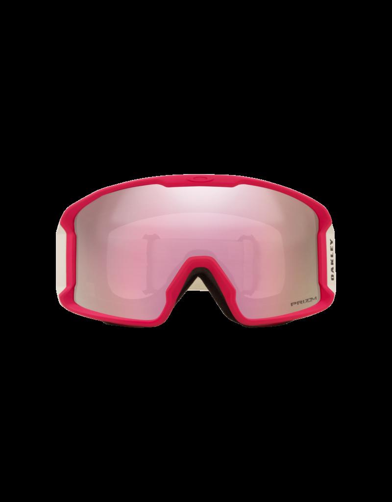 Oakley Line Miner XM Goggles Factory Pilot Rubine/Prizm Snow Hi Pink