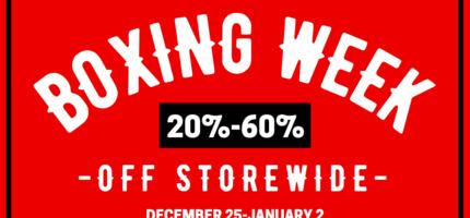 Shredz Boxing Week Sale 2020