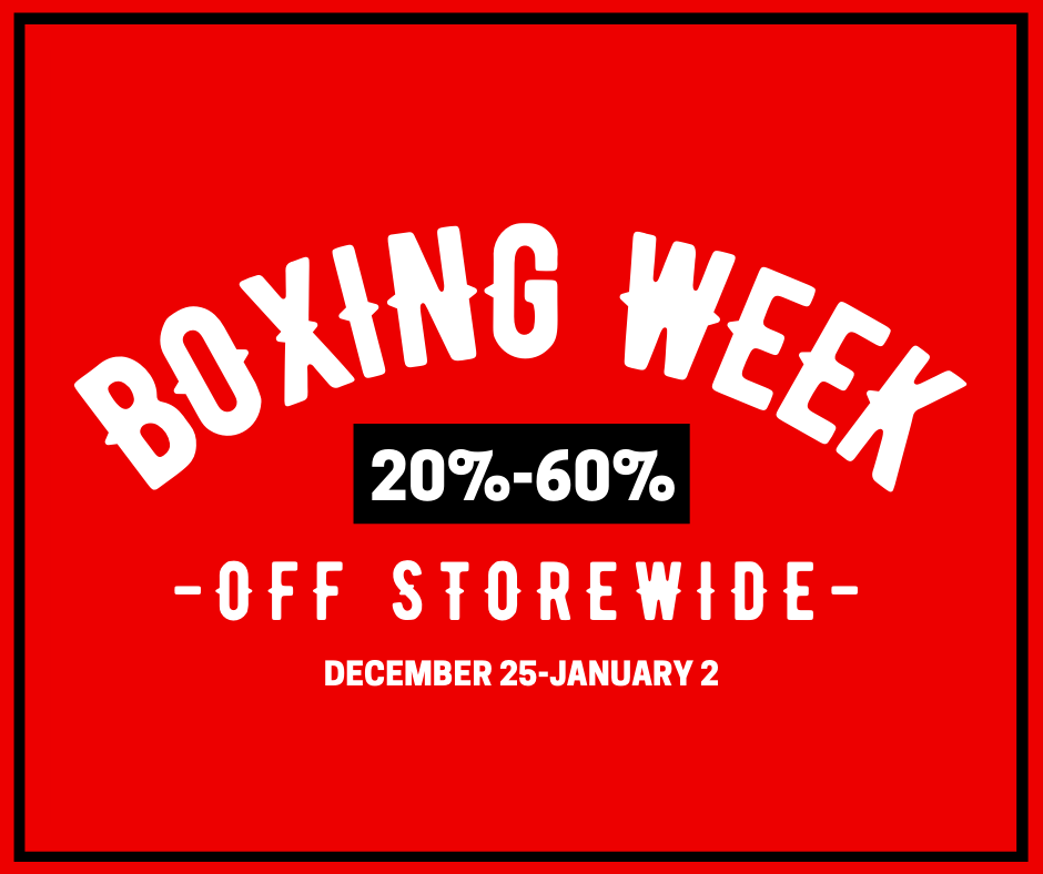 Shredz Boxing Week Sale 2020