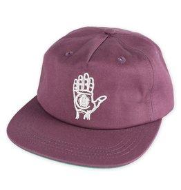 Theories Theories Hand Of Theories Strapback Hat (Purple)
