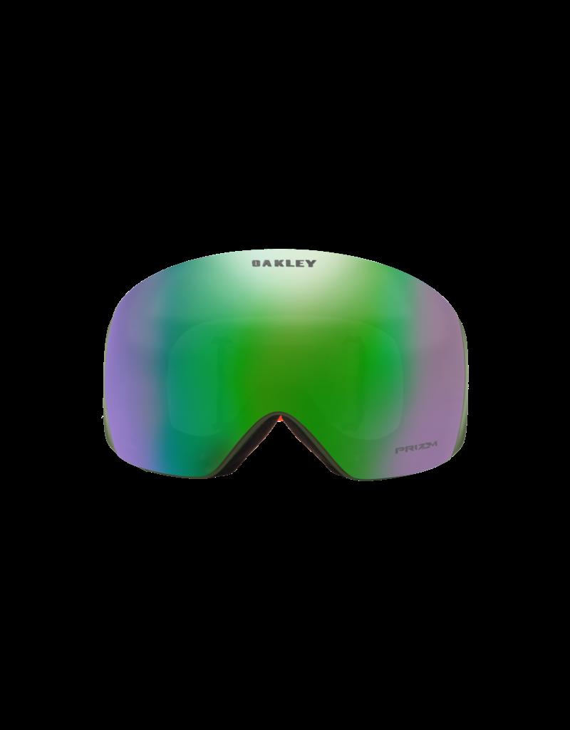 Oakley Flight Deck XL Goggles Factor Pilot Orange /Prizm Jade