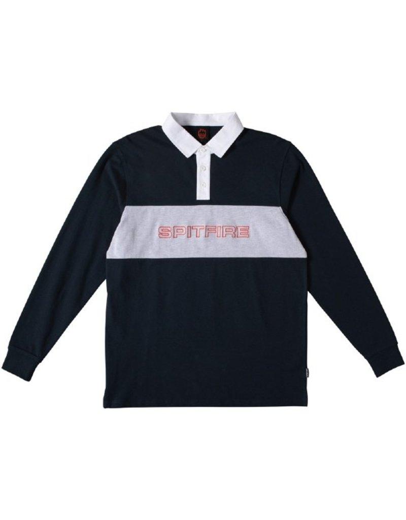 Spitfire Spitfire Geary L/S Rubgy Shirt