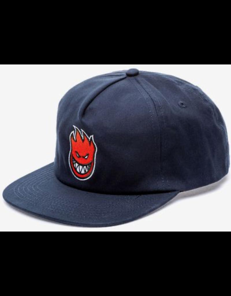 Spitfire Spitfire Bighead Fill Strapback Hat (navy/red)