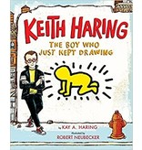 Books Keith Haring Boy Who Book