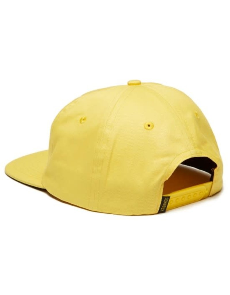Krooked Krooked Shmoo Snapback Hat (yellow)